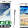 Samsung Galaxy Note 2 vs LG Optimus 4X HD [vidéo]